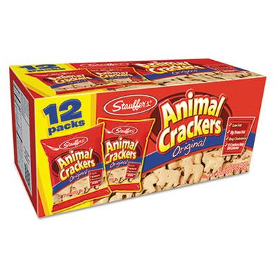 Animal Crackers, 1.5 oz Bag, 12/Box