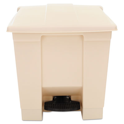 Rubbermaid Indoor Utility Step-On Waste Container,