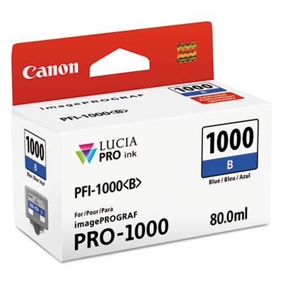 0555C002 (PFI-1000) Lucia Pro Ink, 80 mL, Blue CNM0555C002