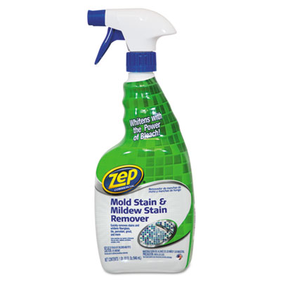 Zep Commercial® Mold Stain and Mildew Stain Remover, 32 oz Spray Bottle - 1041725