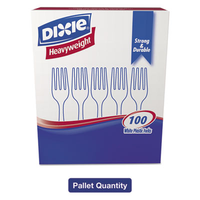 Dixie Plastic Cutlery Heavyweight Soup Spoons White 1000//Carton SH217