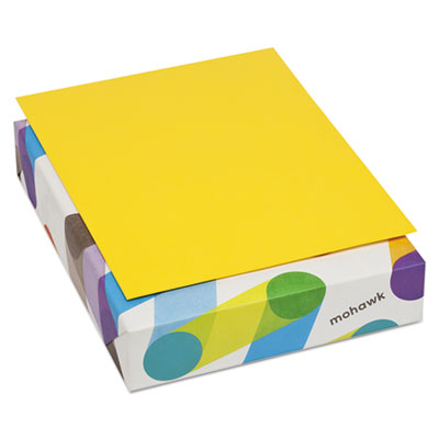 BriteHue Multipurpose Colored Paper, 24lb, 8 1/2 x 11, Yellow, 500 ...