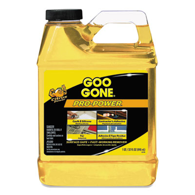 Goo Gone® Pro-Power Cleaner, Citrus Scent, 1 qt Bottle - 2112