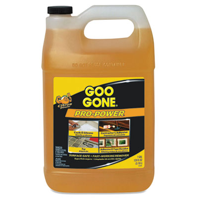 Goo Gone® Pro-Power Cleaner, Citrus Scent, 1 gal Bottle, 4/Carton - 2085CT