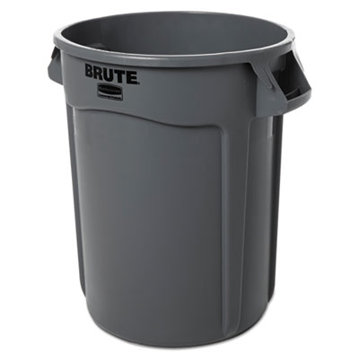 BRUTE 2632 GREY CONTAINER 32 GAL W/O LID 22