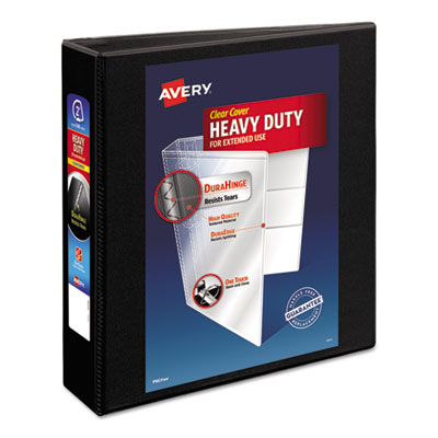 Avery® Heavy-Duty Non Stick View Binder with DuraHinge® and Slant Rings