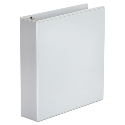 Economy 2 Inch Round Ring View Binder, White