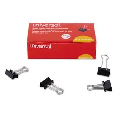 "Universal Bulldog Clips Steel 1//2/"" Capacity 2 1//4/"" Wide Nickel-Plated 36//Pack"