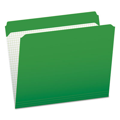 Colored File Jackets with Reinforced Double-Ply Tab Straight Tab Letter Size,