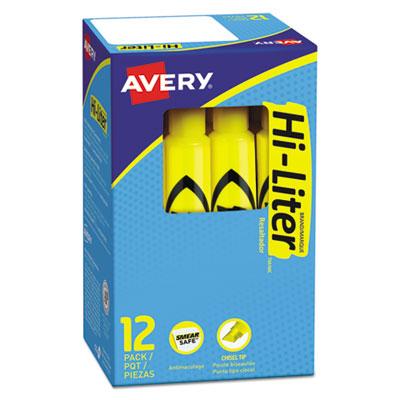 Avery® HI-LITER® Desk-Style Highlighters
