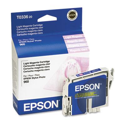 epson t033620 durabrite ink, 440 page-yield, light magenta