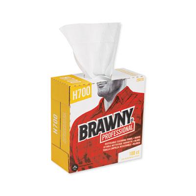 Medium Weight HEF Shop Towels, 9 1/10 x 16 1/2, 100/Box