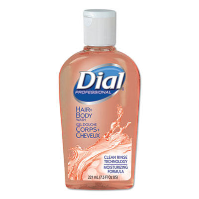 Body & Hair Care, Peach Scent, 7.5 oz Flip-Cap Bottle, 24/Carton