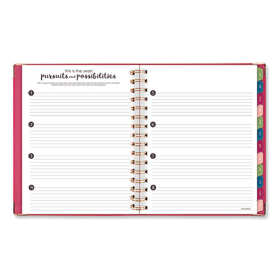 AT-A-GLANCE® Harmony Weekly/Monthly Hardcover Planner