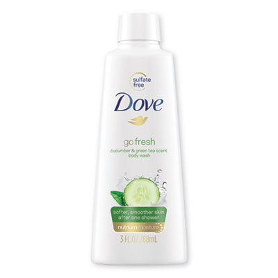 Body Wash, Cucumber and Green Tea, 3 oz