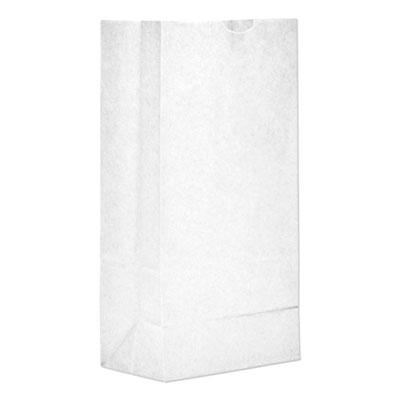 #8 PAPER BAG 35LB 6x4x12 WHITE 500/PK