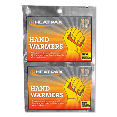 Hot Rods Hand Warmers, 10/Pack