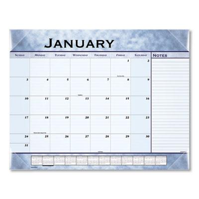 AT-A-GLANCE® Slate Blue Desk Pad