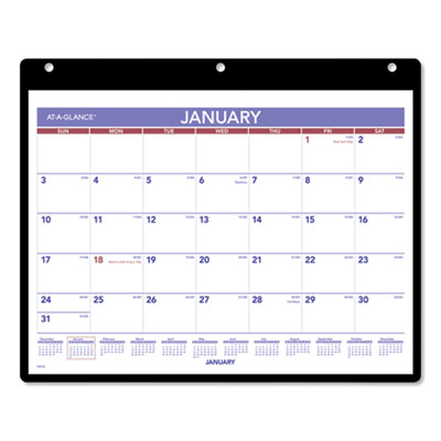 AT-A-GLANCE® Monthly Desk/Wall Calendar