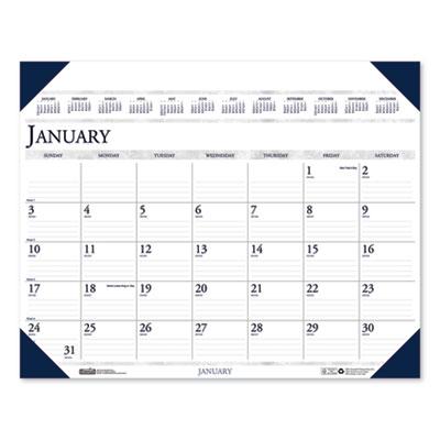 House of Doolittle™ Executive Monthly Desk Pad Calendar