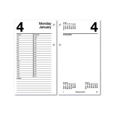 AT-A-GLANCE® Large Desk Calendar Refill
