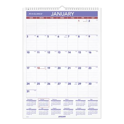 AT-A-GLANCE® Erasable Wall Calendar