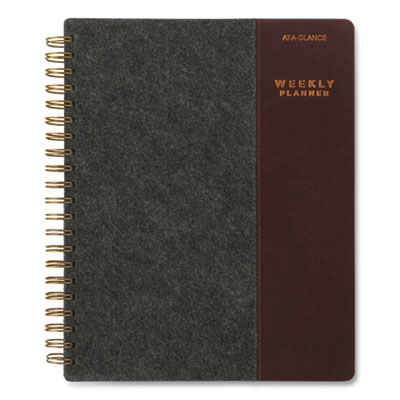 AT-A-GLANCE® Signature Collection® Two-Toned Weekly/Monthly Planner