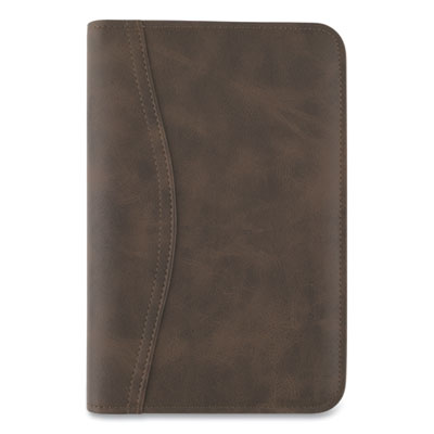 AT-A-GLANCE® Distressed Brown Leather Starter Set