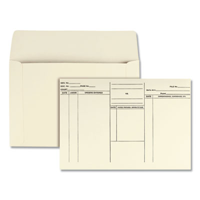 Quality Park(TM) Attorney's Envelope/Transport Case File