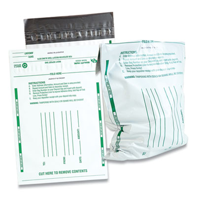 Quality Park™ Poly Night Deposit Bags