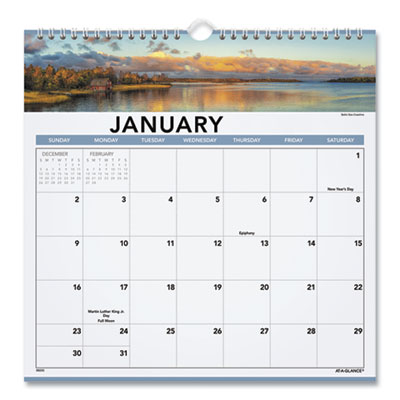 AT-A-GLANCE® Landscape Monthly Wall Calendar