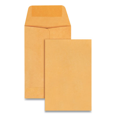Quality Park(TM) Kraft Coin and Small Parts Envelope