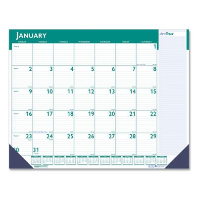 House of Doolittle(TM) Express Track Monthly Desk Pad Calendar