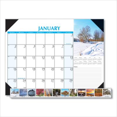 House of Doolittle™ Earthscapes™ Scenic Desk Pad Calendar