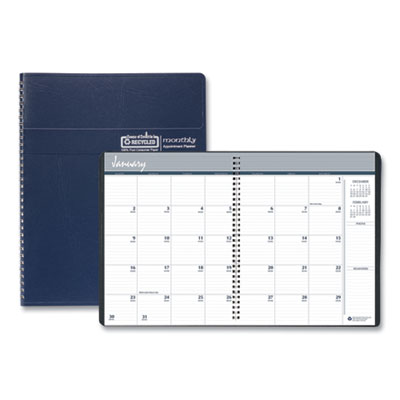 House of Doolittle™ 14-Month 100% Recycled Ruled Monthly Planner