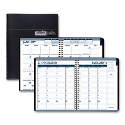 House of Doolittle™ 100% Recycled Wirebound Weekly/Monthly Planner
