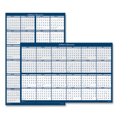 House of Doolittle(TM) Reversible/Erasable 2 Year Wall Calendar
