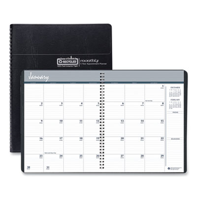 House of Doolittle™ 100% Recycled Monthly 5-Year/62 Months Planner