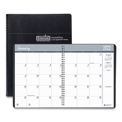 House of Doolittle™ 24-Month 100% Recycled Ruled Monthly Planner