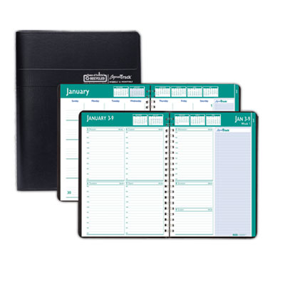 House of Doolittle™ Express Track® 100% Recycled Weekly Appointment Book/Monthly Planner