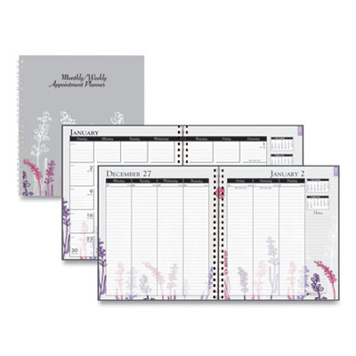 House of Doolittle™ 100% Recycled Wild Flower Weekly/Monthly Planner