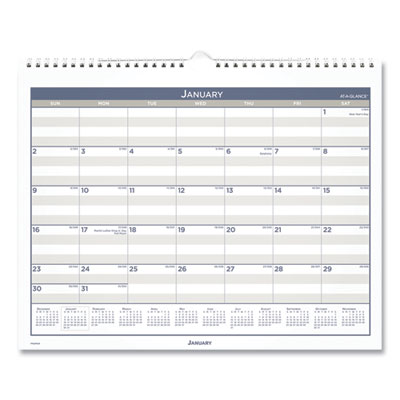 AT-A-GLANCE® Multi Schedule Wall Calendar