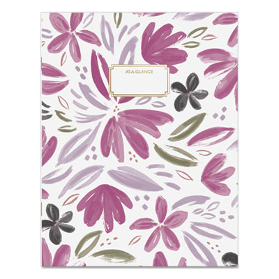 AT-A-GLANCE® Badge Floral Monthly Planner