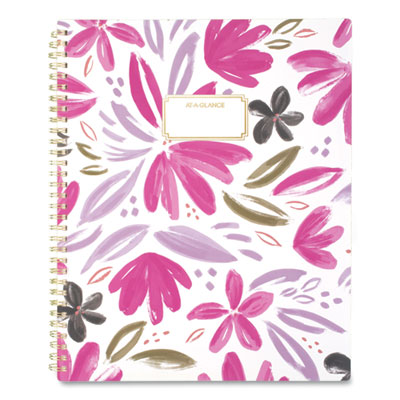 AT-A-GLANCE® Badge Floral Weekly/Monthly Planner