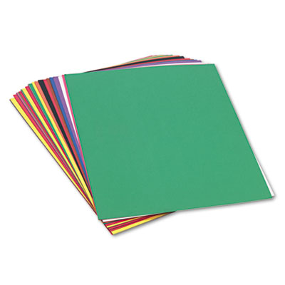 Construction Paper, 58lb, 24 x 36, Assorted, 50/Pack