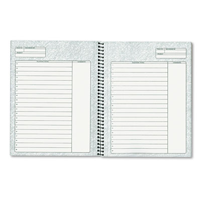 tops™ noteworks project planner w/paperboard cover, 8-1/2 x 6-3/4