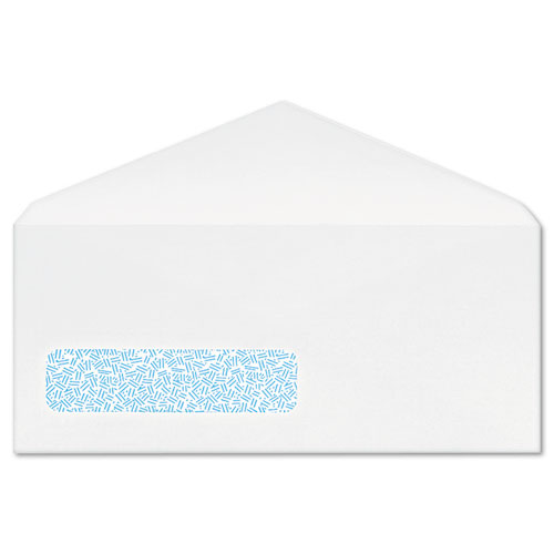Quaco171 columbian poly klear security window envelopes for Window envelopes