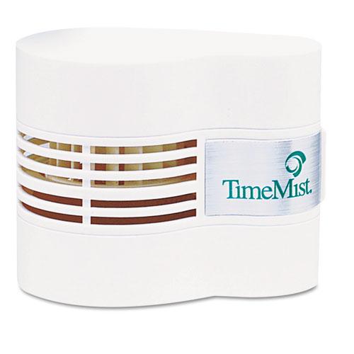 TimeMist® Continuous Fan Fragrance Dispenser, 4 1/2 x 3 x 3 3/4, White