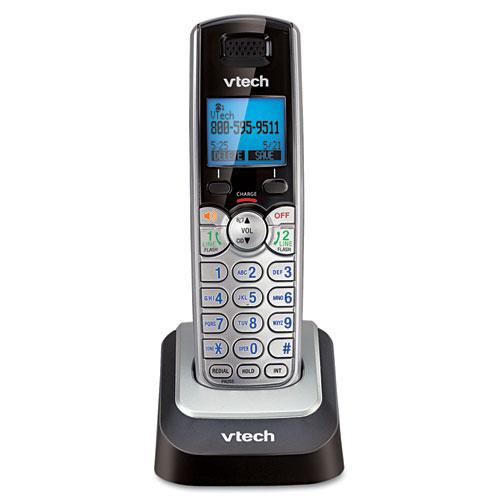 Vtech - two-line cordless accessory handset for ds6151, sold as 1 ea