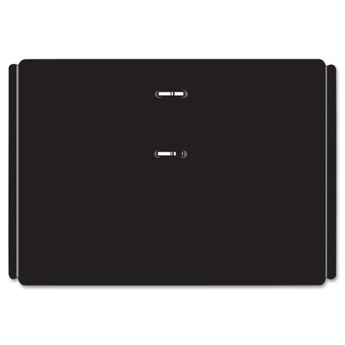 Desk Calendar Base, Black, 3 x 3 3/4